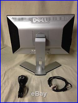 Dell 22 WideScreen LCD Monitor 2208wfpb 2208wfpt DVI Pwr cable / Desktop
