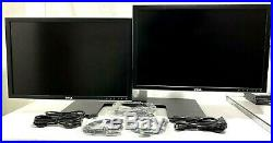 Dell 24 UltraSharp 2408WFP Widescreen LCD Dual Monitor Set-Up withSTAND, WARRANTY