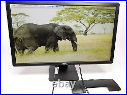 Dell E2414Ht Widescreen 24 LED LCD Monitor 1920x1080 with stand and power cable