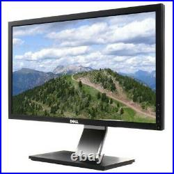 Dell G2410 24 Widescreen Flat Panel IPS LCD Monitor 1920 × 1080 DVI VGA Stand