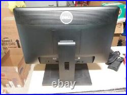 Dell P1913B Wide Screen LCD 19 Monitor Flat Panel w stand, power cord and VGA