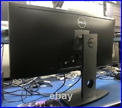 Dell U3415WB 34 WIDESCREEN CURVED LCD MONITOR TESTED