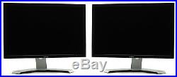 Dual Matching Dell 2408WFP Ultrasharp 24 Widescreen LCD Monitor Grade A