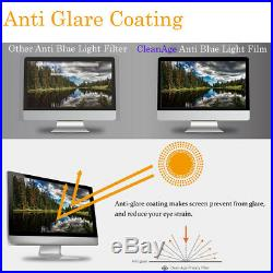 EGL Anti Blue Light 23.8 Wide LCD LED Monitor Screen Protector Film Anti Glare