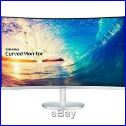 Gaming Monitor Samsung CF591 27 Widescreen LED LCD Silver Metallic LC27F591FDUX