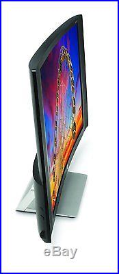 HP 27C 27 Curved 60Hz Widescreen LCD/LED Computer Monitor HDMI & Speakers