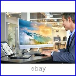 HP 34 EliteDisplay S340c 34 inch Widescreen LCD Curved Monitor with built-in