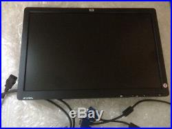 HP Le1901w 19 Wide Screen LCD Computer Monitor Vga (no Stand) Free Shipping