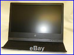 HP U160 15.6 Portable LCD Monitor-widescreen LED Backlit USB with Case and Cable