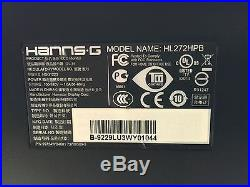 Hanns-G Hannspree HL272HPB 27 HDMI Widescreen LED Backlight LCD Monitor