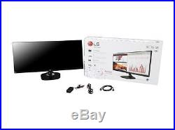 LG 34UM58-P. A Black 34 5ms (GTG) HDMI Widescreen LED Backlight LCD Monitor