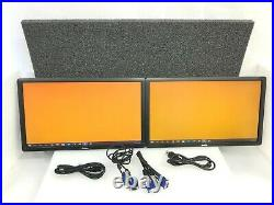 LOT OF 2 Dell P2212HF 1920x1080 60Hz 5ms Resolution 22 WideScreen LCD