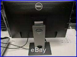 LOT OF 2 Dell U2412Mb 24 Widescreen LED Backlit LCD Monitor With STAND #DU24