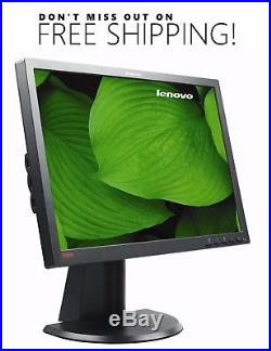 Lenovo LT2452P 24 WideScreen LCD Monitor with VGA & power cables Free Shipping