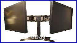 Lot of 2 Dell P2214Hb Widescreen LCD Computer Monitor with Dual Stand