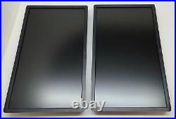Lot of 2 Dell P2412HB 24 Full HD 1920x1080 Widescreen LCD Monitor
