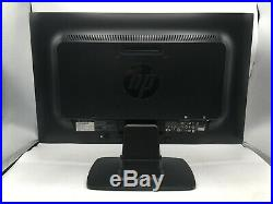 (Lot of 2) HP ProDisplay P201 20 LED LCD Widescreen Monitors withDisplay Cables