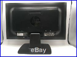 (Lot of 2) HP ProDisplay P202 20 LED LCD Widescreen Monitors withDisplay Cables