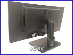 MINOR SCRATCHES! LG 29UB67-B Widescreen 2560 x 1080 LCD Monitor 29-in