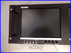 Marshall Electronics V-R82DP-2C 169 Wide Screen LCD Panel Monitors