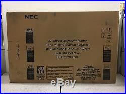 NEC MultiSync V322 32 Widescreen LCD Monitor, built-in Speakers