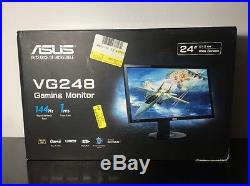 NEW ASUS VG VG248QE 24 Widescreen LED LCD Monitor, built-in Speakers