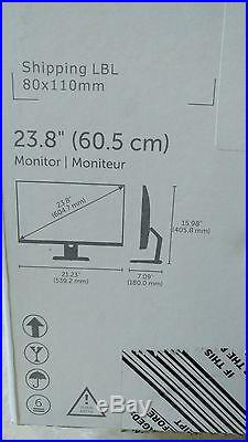 NEW Dell S2415H 24-inch PERFECT GIFT Widescreen LED LCD 1YR 2x3W Speakers