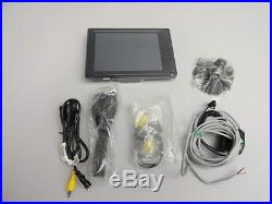 New 8 inch LCD touchscreen monitor for cars AV/VGA output wide screen TFT