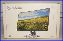 New Dell SE2716H 27 Widescreen LED Backlit LCD Curved Monitor