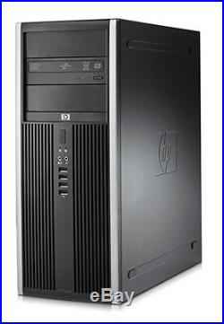 PC-Set Desktop HP elite 8100 Tower Intel i5-650 + 24 inch Widescreen LCD monitor