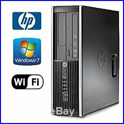 PC Set HP elite 8100 SFF and Dual 2x 22LCD Widescreen monitor Intel i5 Win7