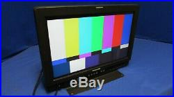 Panasonic BT-LH1700W 17 Widescreen LCD Monitor good picture clean screen