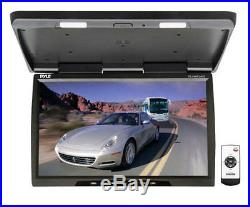 Pyle PLVWR2400 25 Wide Screen TFT-LCD Roof Mount Video Monitor WithIR Transmitter