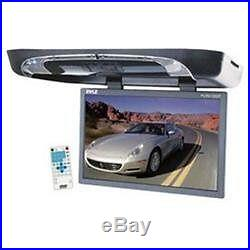 Pyle Plrd195if 19 Roof Mount Flip Down Widescreen Tft Lcd Car Monitor Withdvd