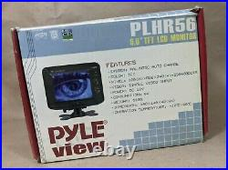 Pyle View PLHR56 Series 5.6 Wide Screen TFT LCD Widescreen Headrest Monitor