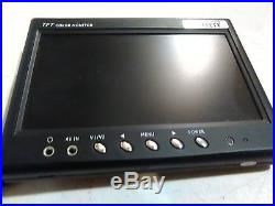 Rear View Safety Rvs-6137n Rv Safety Backup Monitor 7 Color Tft LCD Widescreen