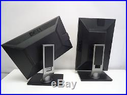 SET OF 2 Dell P2210T 22 Widescreen LCD Monitor DVI VGA USB EXCELLENT CONDITION