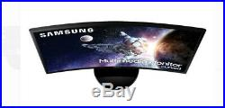 Samsung 32 Curved HDMI 60hz 4ms FHD LCD Monitor black- ultra-sharp widescreen