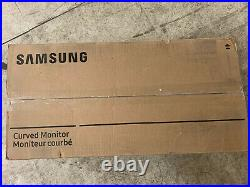 Samsung C43J890DKN 43 inch Curved Widescreen VA LCD Monitor