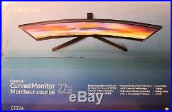 Samsung CF396 Series Curved 27-Inch FHD Monitor (C27F396) Widescreen LED LCD