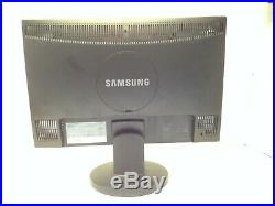 Samsung SyncMaster 943NW 19 Widescreen LCD TFT Colour Monitor 500001 Contrast