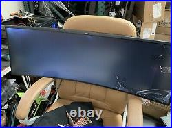 Screen Crack Samsung C43J890DKN 43 inch Curved Widescreen VA LCD Monitor