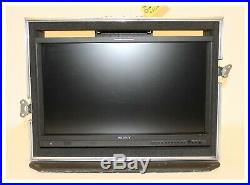 Sony LMD-2341W, 23 Inch Widescreen LCD Monitor including Flight Case