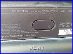 Sony PlayStation 3D Display 24 Widescreen LED LCD with set of 3D glasses