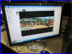 Sony Sdm-p234 23 Widescreen LCD Color Computer Display Monitor Dvi-d Vga