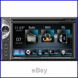 Stereo Navigator RDS DVD Monitor 6,2 Tft-Lcd Wide Touchscreen 2 Din Phonocar