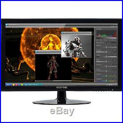 Wide Monitor Computer Screen LCD LED Full HD 1080p Gaming Home Office 24 Inch
