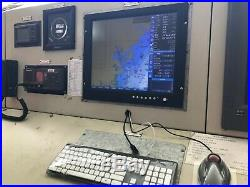 XINUO LCD Monitor Wide Screen for Marine Radar Echo Eounder Chartplotter HM-2624